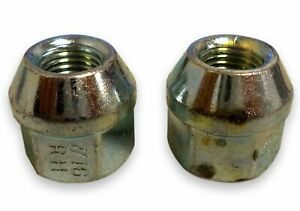 "Wheel Tite 716F Open End Bulge 7/16""-20 Chrome Wheel Lug Nut"