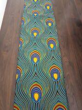 New African Cotton Wax Print Fabric Ankara Stunning Bright Colors Sold Per Yard