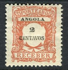 PORTUGUESE ANGOLA 1900s early Postage Due issue Mint unused 2r. value