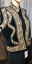 Traditional Morocan Turkish Pants Style Suit Jabadour Comes In 2 Pc Vest/pants