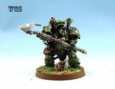Warhammer 40K WGS Painted Chaos Space Marines Typhus Herald of Nurgle CSM036