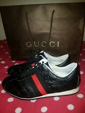 mens gucci trainers 9.5