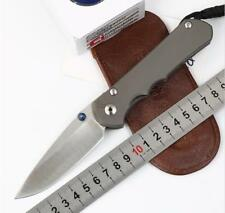 New CNC Full CR TITANIUM Handle S35vn Blade Sebenza 25 Style Folding knife KF-10
