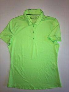NEW Under Armour Short Sleeve Golf Polo Shirt Women's Size Medium UW0465