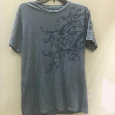 NWT Royal Underground Men double head t shirt blue short sleeve shirt Sz S