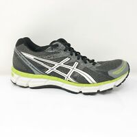 Asics Mens Gel Excite 2 T423N Gray White Running Shoes Lace Up Low Top Size 8.5