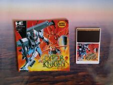 PC Engine - Cyber Knight -  JAPANESE IMPORT US Seller Game and Manual only