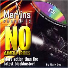 NO CAMERA TRICKS - Mark Lee, Merlin's Magic - DVD & GIMMICKS - SEE VIDEO - NEW!