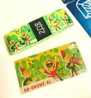 ZOX **AB-GNOME-AL** Silver Strap med Wristband w/Card New Mystery Pack