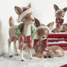 """Raz Imports 6.5"""" Vintage Laying Deer"""