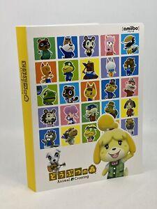 Animal Crossing mini album compact storage case for amiibo card Nintendo
