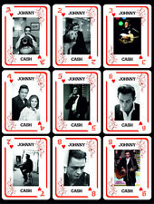 JOHNY CASH 1 BOX WITH 54 POKER PLAYING CARDS - ARGENTINA! - NIB