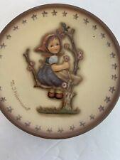 Vintage M.J. Hummel Miniature Apple Tree Girl #1148 Collectible Plate