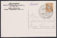 DR PP 106 C12/03 Privat Ganszache EPOSTA mit SST Essen 08.05.1932, GA