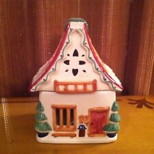 PFALTZGRAFF NORDIC CHRISTMAS  - Ski Chalet Candle Tealight Holder