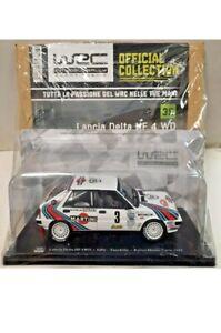 Modellino WRC 1:24 LANCIA DELTA HF 4WD