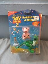 Disney Pixar Toy Story 2 Barbie Doll & Friends Rexx Hamm MOC