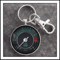 Vintage VDO  Porsche 911 Tachometer Photo Keychain 🎁🏎