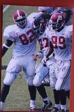 New listing TERRY JONES JR. SHAUN ALEXANDER THEO SANDERS ALABAMA FOOTBALL SIGNED 8X10 PHOTO