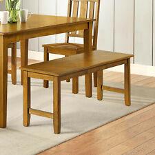 New Better Homes & Gardens Bankston Dining Bench, Honey Finish