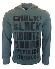 GUESS Herren,Men,Uomo,Kapuzen Pullover,Sweatshirt,Hoodie,NEU,NEW,Grüntöne,Motiv,