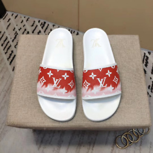 Louis Vuitton White Monogram Sandals