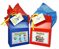 Personalised Disney Toy Story Birthday Party Favour Sweets Lunch Gift Box/Bag