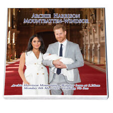 Harry & Meghan - Royal Baby - Archie Harrison Mountbatten-Windsor- Fridge Magnet