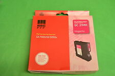 Ricoh GC21MH Magenta GEL Ink GC  21MH GX7000 GX5050N Only Date 2009  J740-22