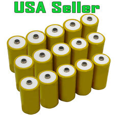 15 Hitech C Size Ni-Cd Rechargeable Batteries 3000mAh