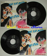 LP 45 7'' GRAFFITI Rap music Rap attack 1983 italy DURIUM DE. 3230 cd mc dvd (*)