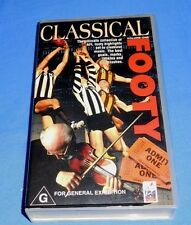 1996 AFL Classical Footy Volume 1 Football Classical Music VHS Video 40 Min AFV