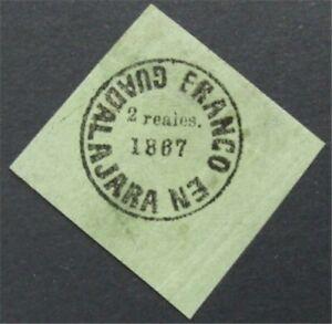 nystamps Mexico Guadalajara Stamp # 15 Mint OG H       S17x744