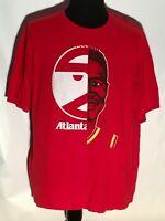 Atlanta Hawks NBA Basketball Team Pac-Man Retro Hardwood Classics 2XL T-shirt
