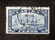 Canada--#204 Used--Steamship Royal William--1933