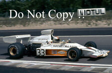 Mike Hailwood Yardley McLaren M23 French Grand Prix 1974 Photograph 3