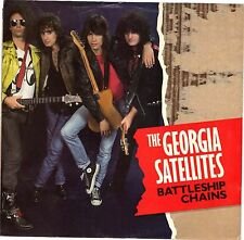 GEORGIA SATELLITES  (Battleship Chains) Elektra 7-69497 = PICTURE SLEEVE ONLY!!!