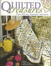 Quilted Treasures Paper Piecing Applique+ Peggy Waltman Book LA #4388 NEW