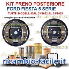 KIT FRENO A TAMBURO POSTERIORE FORD FIESTA 5 SERIE DAL 2002 AL 2008 FC203203 ATE