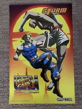 SDCC 2019 STREET FIGHTER V 11x17 POSTER STORM COLLECTIBLES CAPCOM EXCLUSIVE HTF