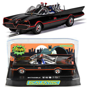 Scalextric C4175 Batmobile 1966 TV Series Batman Slot Car 1/32 DPR