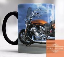Awesome Golden Harley Davidson Magic Color Changing Coffee Mug Christmas Gift