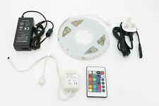 High Quality 12V 5M 5050 LED RGB Strip Light Tape Light FULL KIT