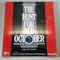 Hunt for Red October (PC, 1988) Datasoft  IBM CD-ROM MS-DOS PC Video Game NEW