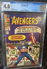 Avengers 16 CGC 4.0
