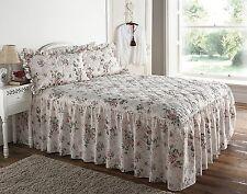 De Luxe Matelassé Classique Rose Garden Plaid Couvre-lit couette pour lit king size