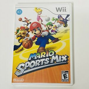 Brand New & Factory Sealed Mario Sports Mix Nintendo Wii Console Game