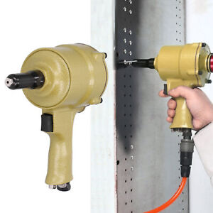 6.2kg/cm² 2.4-4.8mm Pneumatic Nail Pulling Gun Green Air Riveting Tool Set