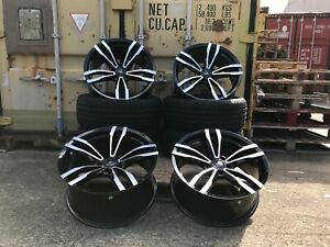 19''inch ALLOY WHEELS 1 / 2 / 3 / 4 SERIES 405M D SPOKE M SPORT WITH NEW TYRES