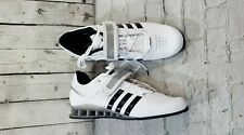NEW Adidas Adipower Weightlifting CrossFit Shoes White Black M25733 MENS SIZE 14